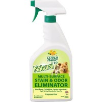 Citrus magic natural pet multi surface stain and odor eliminator, fragrance-free - 22 oz