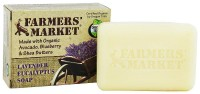 Farmers Market Lavender and Eucalyptus Bar Soap - 5.5 oz
