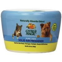 Citrus magic solid air freshener, pure linen - 20 oz