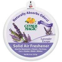 Citrus magic solid air freshener, lavender escape  -  8 Oz
