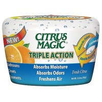 Citrus magic tripleaction absorbs moisture and absorbs oders - 12.8 oz