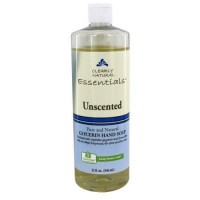 Clearly Natural essentials glycerin hand soap, unsented - 32 oz