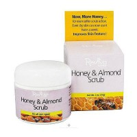 Reviva Peanut Honey And Almond Face Scrub For All Skin Types - 2 oz