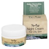 Reviva Labs Night Cream For Oily Skin - 0.75 oz