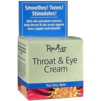 Reviva Labs Throat and Eye Cream For Dry Skin - 1.5 oz