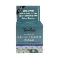 Reviva Labs Antioxidant and Texturizing Organic Day Cream - 2 oz