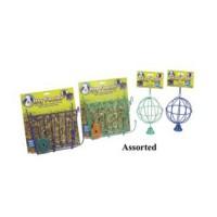 Ware Mfg. Inc. Bird/Sm An hay feeder - wire rack with free salt lick - 8.75x2x9.5 in, 1 ea