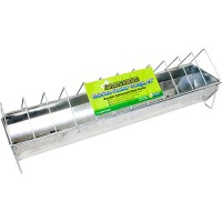Ware Mfg. Inc. farmers market feeder trough for poultry - 24 inch, 12 ea