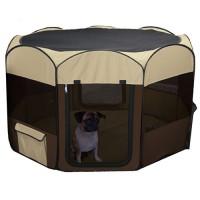 Ware Mfg. Inc. Dog/Cat deluxe pop up playpen - large, 3 ea