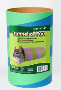 Ware Mfg. Inc. Bird/Sm An tunnels of fun - large, 12 ea