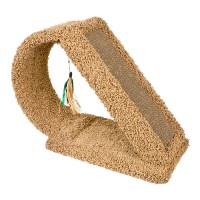 Ware Mfg. Inc. Dog/Cat kitty scratch tunnel with corrugate - 9.5 x 23 x 18.5, 1 ea