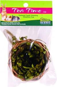 Ware Mfg. Inc. Bird/Sm An tea time cup natural chew - cup/small, 72 ea