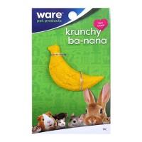 Ware Mfg. Inc. Bird/Sm An critter ware krunchy banana - 48 ea