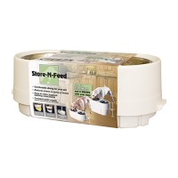 Ourpets Company adjustable store-n-feed - up to 15 lb, 4 ea