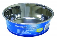 Ourpets Company durapet stainless steel bowl - 2 quart, 24 ea
