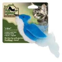 Ourpets Company play-n-squeak realbirds j-bird - 24 ea