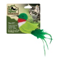Ourpets Company play-n-squeak realbirds buzz off - 24 ea