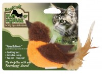 Ourpets Company play-n-squeak realbirds touchdown - 24 ea