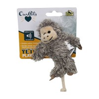 Ourpets Company yeti play-n-squeak cat toy - small, 24 ea
