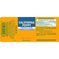 Herb pharm california poppy extract for calming nervous system support - 1 oz