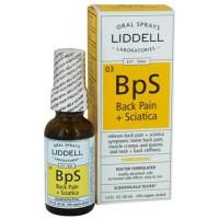 Liddell Laboratories Back Pain + Sciatica Homeopathic Oral Spray - 1 oz
