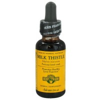 Herb pharm milk thistle liquid herbal extract - 1 oz