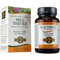 Herb pharm milk thistle  280 mg vegetarian capsules   -  60 ea