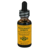 Herb pharm peppermint spirits liqid herbal extract - 1 oz