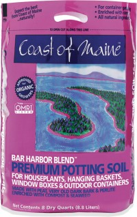Coast Of Maine bar harbor blend premium potting soil - 8 quart, 6 ea