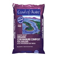 Coast Of Maine schoodic blend cow manure compost - 1 cubic feet, 1 ea