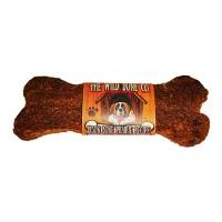 The Wild Bone Company bison bone prairie recipe jerky style dog treat - 1oz/48 piece, 4 ea