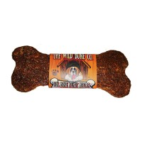 The Wild Bone Company elk bone feast recipe jerky style dog treat - 1oz/48 piece, 4 ea