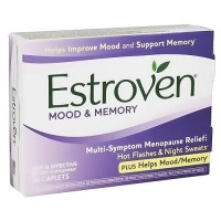 Estroven Plus Mood and Memory Ntural Herbal Blend Caplets - 30 ea