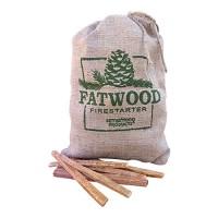 Wood Products Internation fatwood burlap bag - 8 pound, 6 ea