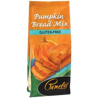 Pamela's pumpkin bread mix gluten free - 16 oz, 6 pack