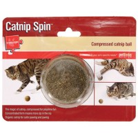 Worldwise Inc catnip spin compressed catnip toy - 7.8 ounce, 24 ea