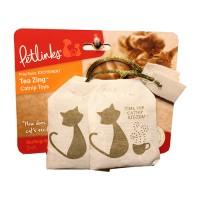 Worldwise Inc tea zing 100% catnip toy - 3 piece, 24 ea