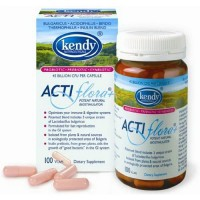 Kendy usa actiflora plus prebiotic probiotic V caps - 100 ea