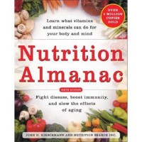 Nutrition almanac book - 1 ea