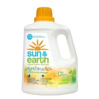 Sun and earth natural laundry detergent - 4 ea