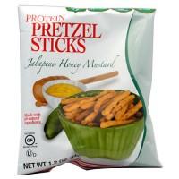 Kay's protein Pretzels sticks, Jalapeno honey mustard - 1.2 oz