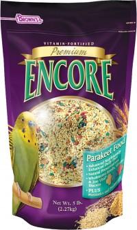F.M. Browns Inc - Pet encore  premium parakeet food - 5 pound, 6 ea
