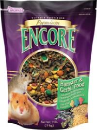 F.M. Browns Inc - Pet encore premium hamster & gerbil food - 2 pound, 6 ea