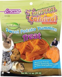 F.M. Browns Inc - Pet tropical carnival natural yummies treat - 3.5 oz, 8 ea