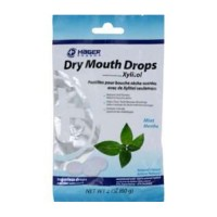 Hager pharma - dry mouth drops mint - 2 oz
