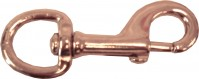 Henssgen Hardware Corp. P heavy swivel eye bolt snap - 5 inch, 100 ea