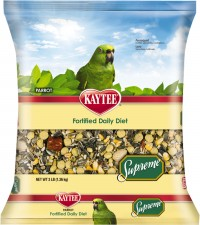 Kaytee Products Inc supreme parrot daily diet - 5 pound, 6 ea
