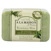 A la maison de proven bar soap, rosemary mint - 8.8 oz