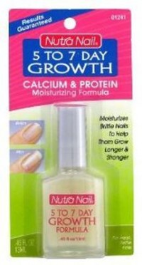 Nutra nail 5 to 7 day growth calcium formula - 3 ea