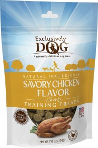 Exclusively Pet Inc chewy training treats - 7 oz, 12 ea